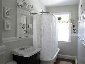 Vorhänge Für Badezimmer : shabby chic badezimmer metall details dusche wanne vorhang shabby vintage cottage living ~ Sanjose-hotels-ca.com Haus und Dekorationen