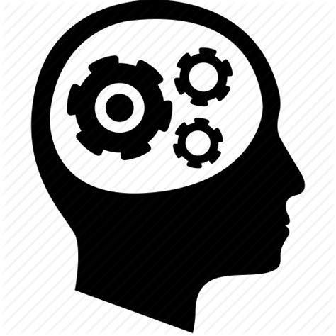 thinking brain png iconfinder monocromatic vol 1 by ricardo cherem