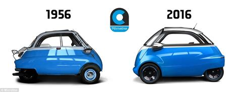 The bubble car is back! Swiss firm reveals new electric ...