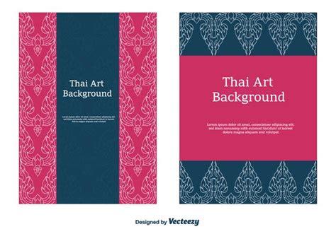 thai pattern vector   vectors clipart