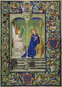 Annunciation, -, Limbourg, Brothers