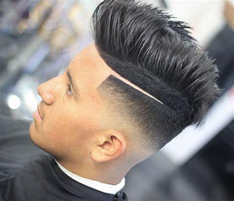 prestigious blurry fade haircuts  mens
