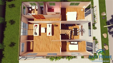 40ft Container Homes Floor Plans
