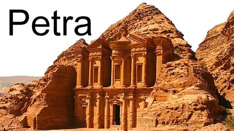 Lost City Of Petra Jordan Youtube