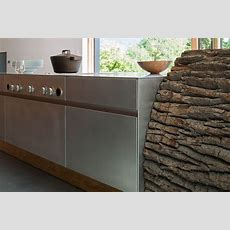 Tree Trunk Kitchen By Willi Bruckbauer For Werkhaus