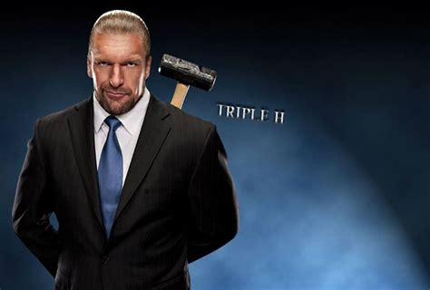 wwe ceo triple h hammer
