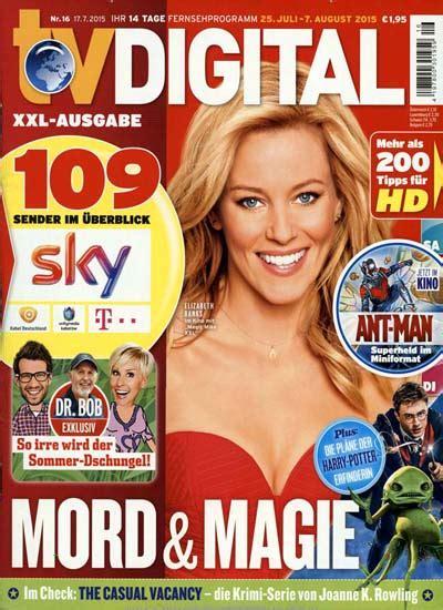 Zeitschriften: Die aktuellen Titelseiten