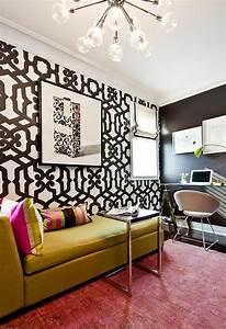Farbe Wand Ideen : 23 kreative ideen f r wanddekoration im g stezimmer ~ Markanthonyermac.com Haus und Dekorationen