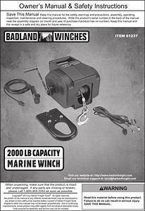 Harbor Freight Winch Wiring Diagram