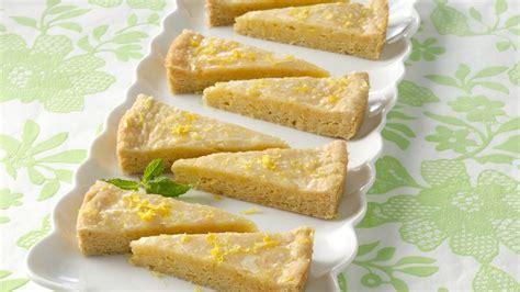 glazed lemon wedges recipe tablespooncom
