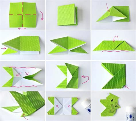 Tuto Origami Marque Page
