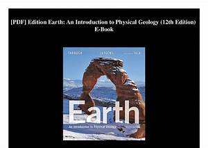 Exercises In Physical Geology 12th Edition Pdf