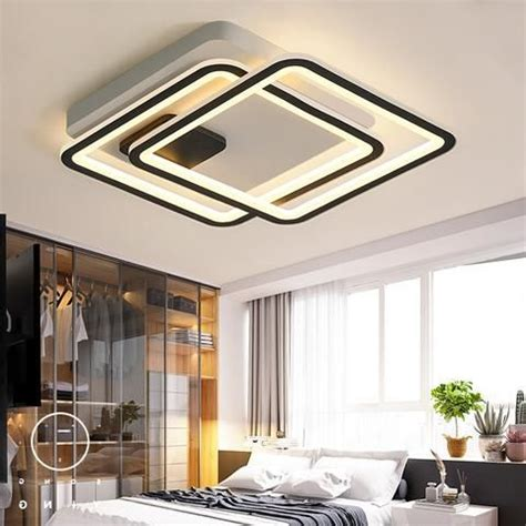 Led Lights For Prayer Room by Modern Square Aluminum Led Chandelier Ceiling Light In