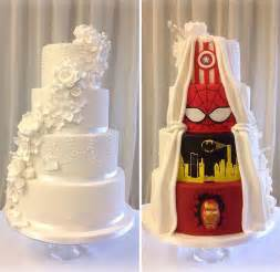 wedding cakes dc marriage is compromise has awesome two wedding cake