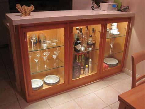 adding display cabinets  kitchendining area