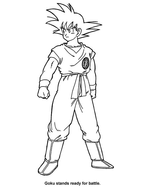 dragon ball  coloring pages coloringpagescom