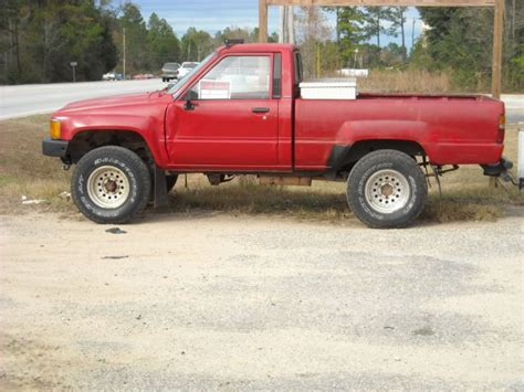 toyota hunting truck classic 1987 toyota pick up 4x4 manual transmission