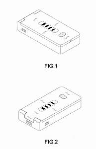 patent usd632648 portable lithium power bank power With portable detector