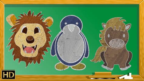 easy animal drawing  kids step  step drawing