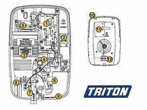 Triton Opal 3 Shower Spares And Parts