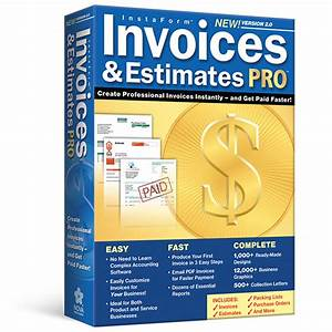 invoices estimates pro invoicing software With instaform invoices and estimates pro