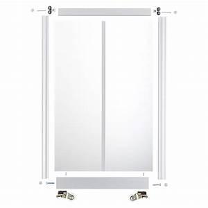 Schiebetür Glas Bauhaus : schiebet r bauset platz da hochglanz schwarz hochglanz ~ Watch28wear.com Haus und Dekorationen