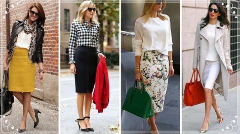 elegant pencil skirts outfits  women pencilskirts