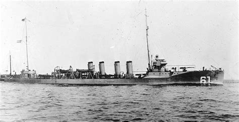 Boat Names Uss by Destroyer Jacob Jones Ships Hit By U Boats German And