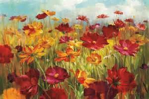 Contemporary Flower Art Prints