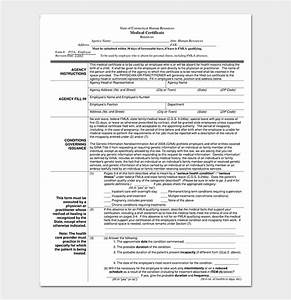 Medical Treatment Certificate Format Medical Certificate From Doctor Template 17 Free