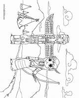 Coloring Indian Village Pages Hellokids Indians Thanksgiving Others Enjoy Welcome sketch template