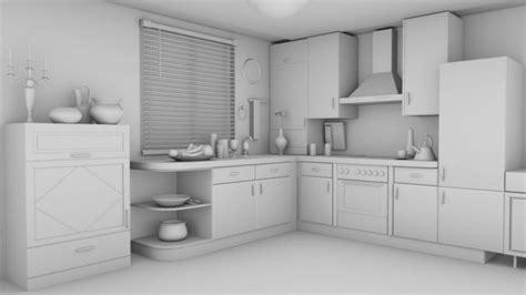 kitchen design 3d model rehman kitchen interior 3d cgtrader 4381