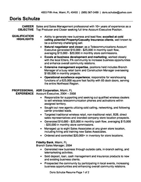 Accounts Resume Format by Resume Format Accounts Executive Free Sles