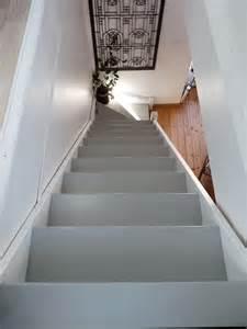 Vitrifier Un Escalier Brut by Rue Rivoirette Avant Apres Peindre Un Escalier