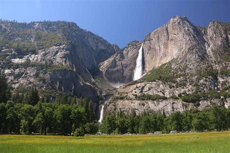 Yosemite Falls National Park California Usa