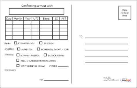 qsl card template qsl card template shatterlion info