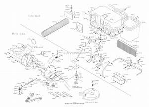 Dixon Blower  Bagger 42 Speedztr  2004  Parts Diagram For