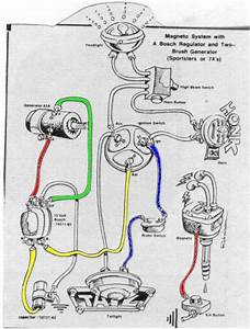 Image Result For Simple Harley Chopper Generator 6v Wiring Diagram
