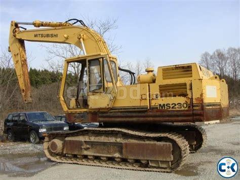 Mitsubishi Excavator by Excavator Mitsubishi Ms 230 Size 0 9 Imported From