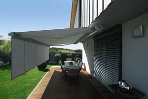 markisen sonnenschutz rolladen metallbau bretschneider With markise balkon mit tapeten von hammer