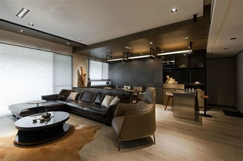 And Wood Make A Masculine Interior by And Wood Make A Masculine Interior A1