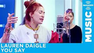 Daigle Charts Daigle Quot You Say Quot Live Siriusxm Youtube