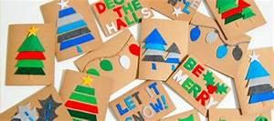 DIY Christmas Cards For Kids To Make