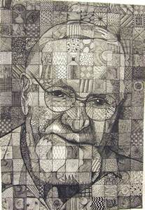 Grid Art Drawing Lesson Patterns