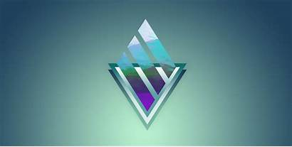 Abstract Triangle Wallpapers Background Digital 4k Gradiant