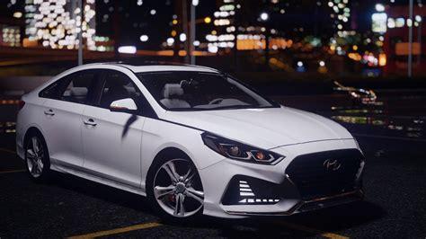 Hyundai Sonata Mods by 2018 Hyundai Sonata Replace Gta5 Mods
