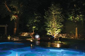 outdoor lighting around pool landscape lighting design tips luxury pools