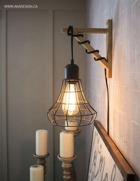 hanging cage light