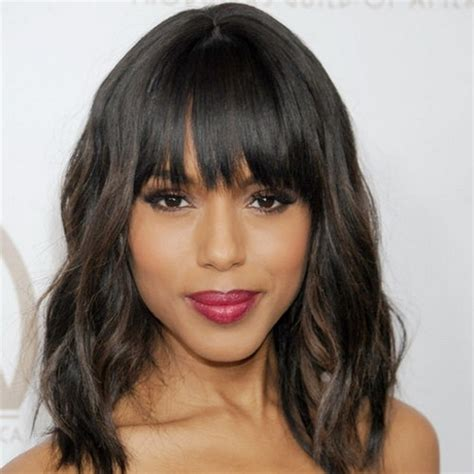 Black Hairstyles With Bangs And Layers by Black Hairstyles With Bangs And Layers