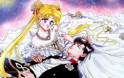 Sailor Moon Usagi Mamoru Crystal Wallpapers Mask